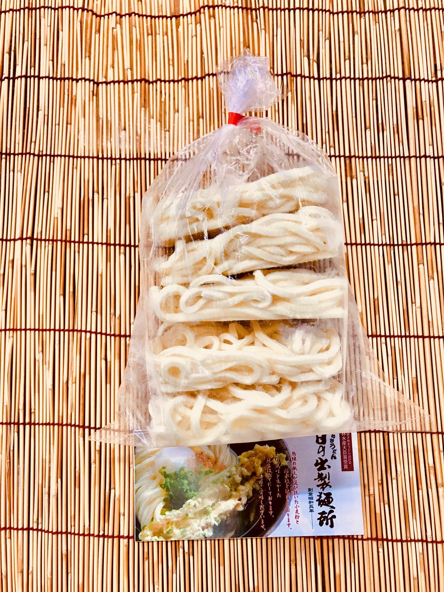 「さぬきの夢」100%使用冷凍麺のみ 200g 5玉