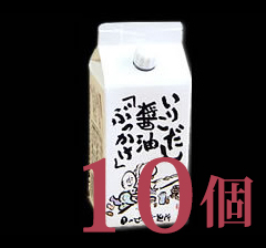 【10個】いりこだし醤油「ぶっかけ」 200ml